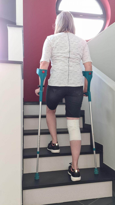 Mobilitätsförderung nach Hüft-TEP anleiten